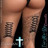 :Diamante: Tie-Me-Up! Leg Corsets DEMO