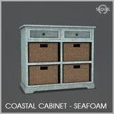 Sequel - Coastal Cabinet - Seafoam
