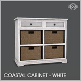 Sequel - Coastal Cabinet - White