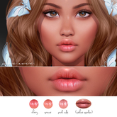 Pink Acid Lily Rose Catwa Lip Detail Appliers Pack