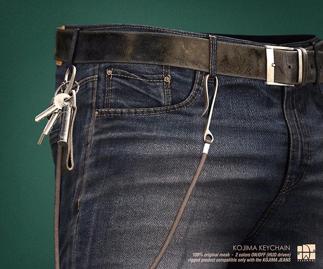 [Deadwool] Kojima keychain