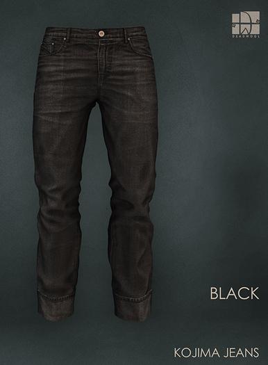 [Deadwool] Kojima jeans - black