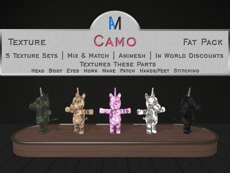 AniMates - Cupcake - Camo Texture Fat Pack