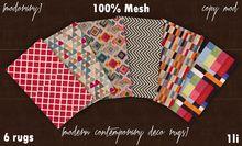 [MODORARY] Modern Contemporary Deco Rugs