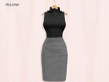 Aby Dress (W/HUD) Slink-Belleza-Maitreya-FitMesh .:Eclipse:.
