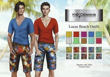 KiB Designs - Lucas Beach Outfit