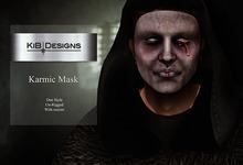 """KiB Designs - Karmic Mask  """"Wear"""""""