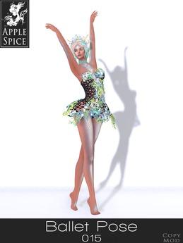 Apple Spice - Ballet Pose 015