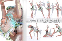 Apple Spice - Ballet Poses 011-020 Fatpack