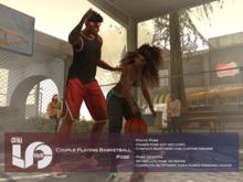 ACT5-326-Couple Playing Basketball Pose BOXED