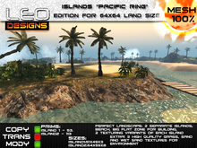 """Island """"Pacific ring"""" for 64x64 land size or skybox"""