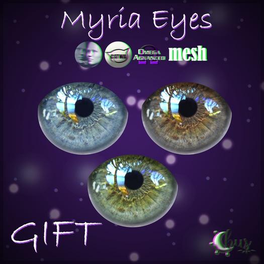 -bus- . Myria Eyes **GIFT PACK**. {Genus-Catwa-Mesh-Omega}