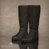 lassitude & ennui Lictor boots - black