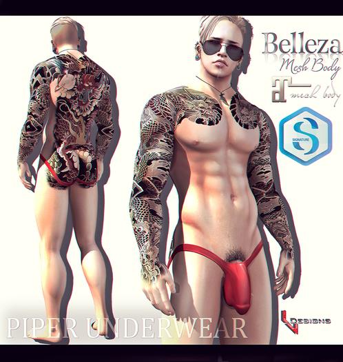 ::LV:. Piper Underwear - Pastels Pack