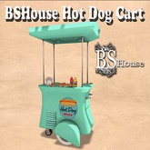 BSHouse Hot Dog Cart