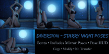 Diversion - Starry Night Poses // Bento
