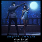 Diversion - You're My Star -  Couple Pose (Wear To Unpack)
