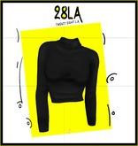 28LA. Erin Turtle Neck BLACK [Add Me]