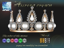 {Fantasy world} Aurora crown