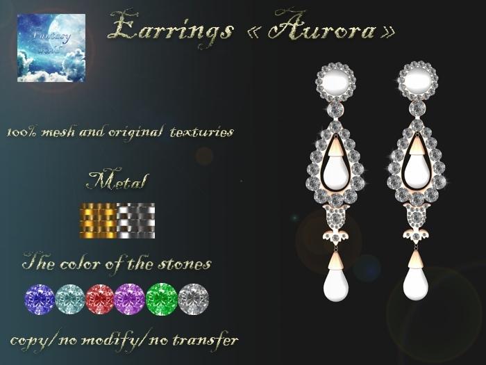 {Fantasy world} Aurora earrings