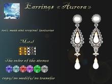{Fantasy world} Aurora earring