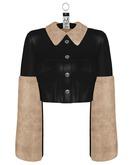 NU. Moda Crop Jacket - Onyxes