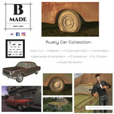 B-Made Rusty Car Collection
