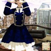 ***Ambrosia***ARMY_Dress[navy]  ~Maitreya Lara