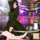 ***Ambrosia***ARMY_Dress[olive drab]  ~Maitreya Lara