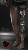 AZOURY - Soldier Leg for Men