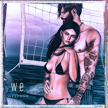 [ west end ] Poses - It's you I Fell Into - Couples Pose (add)