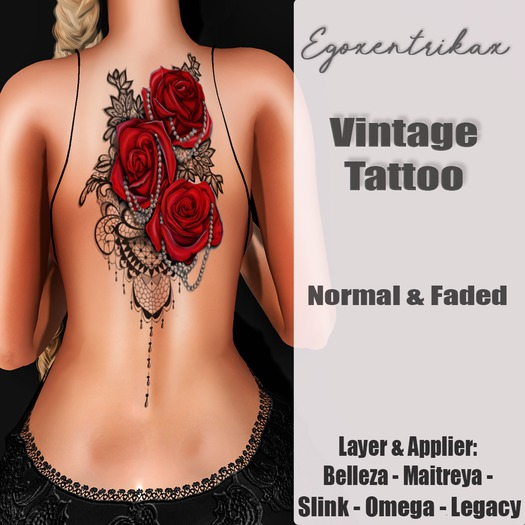::EGO - Vintage Tattoo:: Normal & Faded