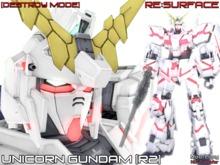 <R:S> Unicorn Gundam [Destroy Mode]
