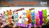 [inZoxi] - Kitsune Animesh Shoulder Pets SERIES 2 - Gacha Box
