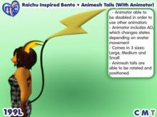 (mc) Sparkchu Bento + Animesh Tails (With Animator)1.2.1