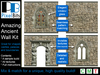 Amazing Ancient Wall Kit. Only 1 prim per wall including windows & archway!