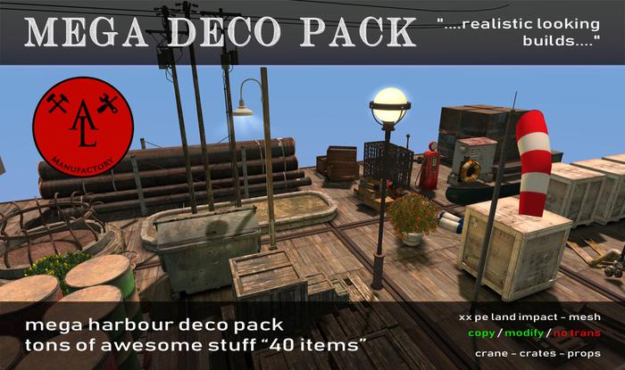 AL Harbour Deco Pack
