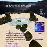 A River Runs through it extention bridge-crate
