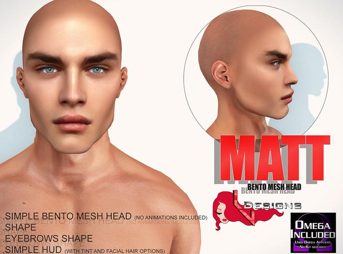 ::LV:. Matt Bento Head