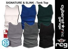 Mens Tank Top - SIGNATURE _Slink