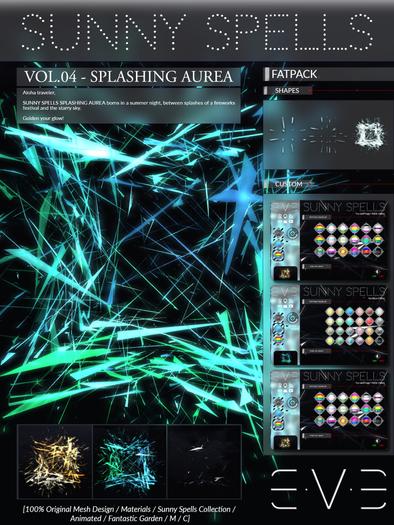 E.V.E SUNNY SPELLS Vol.4 - Splashing Aurea FATPACK