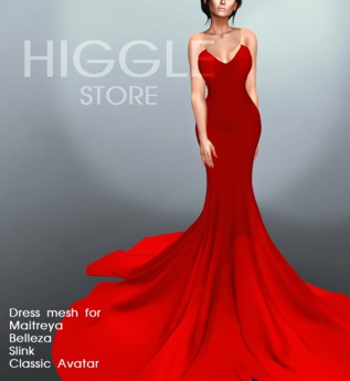 {HIGGLE} Dress Dreams Charms Red