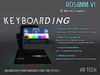VR-TECH Keyboarding RD51000! 3D WORD CREATOR V2