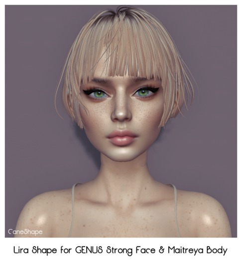 Lira Shape for GENUS STRONG W001 Face & Maitreya Body