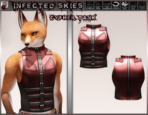 *IS* Cypher Tank Furry Red