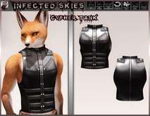 *IS* Cypher Tank Furry Black   (Boxed)