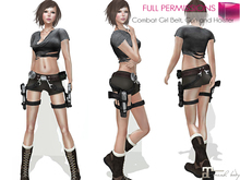 MI963272 Combat Girl Belt, Gun and Holster Set MAITREYA