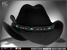 Roosters (Dakota) Western Hat