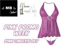 .: MB :. PINK Lingerie Set StoreGift Aut19 ~ Maitreya