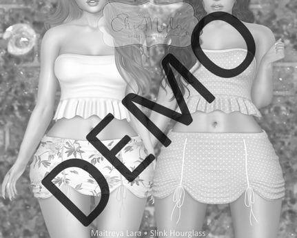 ChicModa // Maddie Top & Skirt // DEMO